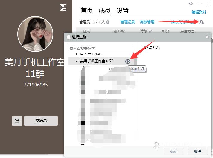 QQ群初级引流法月入十万:美传月月